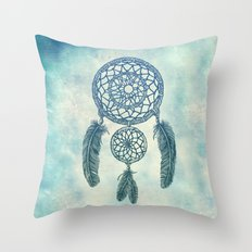 Double Dream Catcher Throw Pillow