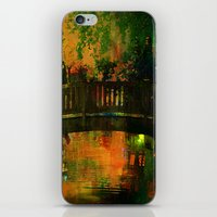 The bridge of Central Park iPhone & iPod Skin