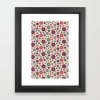 I Heart Patterns #001 Framed Art Print