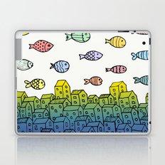 Underwater village II Laptop & iPad Skin