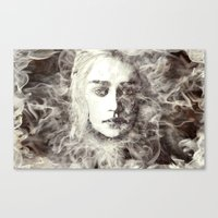 Bride Of Fire Canvas Print