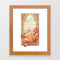 'Good Riddance' Framed Art Print