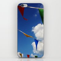 Happy Flags iPhone & iPod Skin