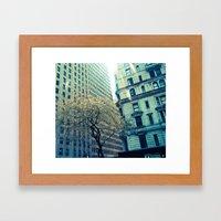 NEW YORK//LIGHT Framed Art Print