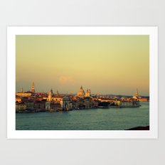 postcard from Venice Art Print