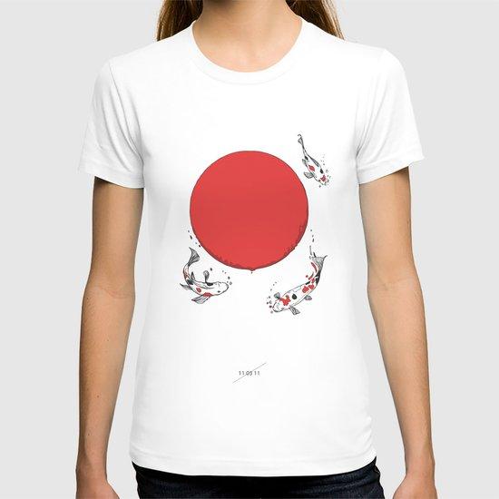 Koi and Sun T-shirt