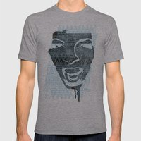 in the face of madness Mens Fitted Tee Athletic Grey SMALL