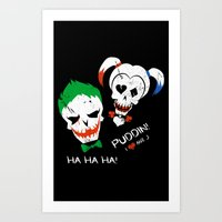 Crazy Love! Art Print