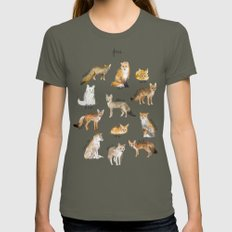 Foxes Womens Fitted Tee Lieutenant SMALL