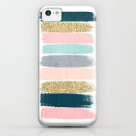 Zara - Brushstroke Glitt… iPhone 5c Slim Case