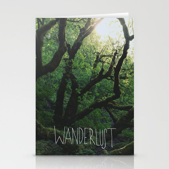 Wanderlust Stationery Card