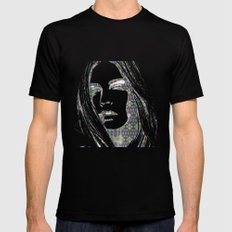 Cara Delevigne SMALL Mens Fitted Tee Black