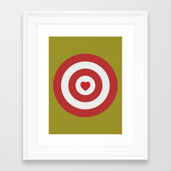 CUPID Framed Art Print