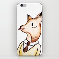 Master Fox iPhone & iPod Skin