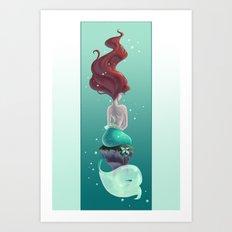 Wish I Could Be Art Print