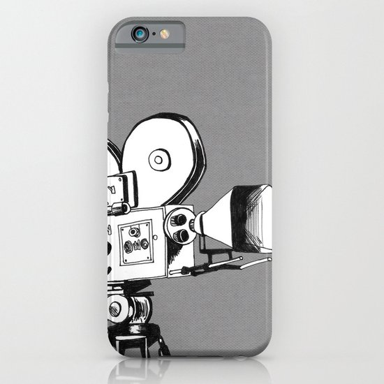 vintage filming iPhone & iPod Case