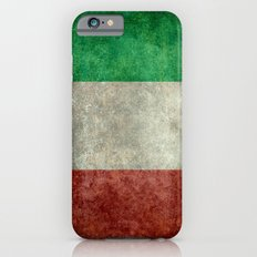The National Flag of Italy - Vintage Version iPhone 6 Slim Case