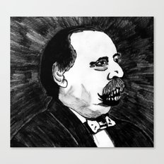 24. Zombie Grover Cleveland  Canvas Print