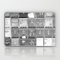 Mailboxes II Laptop & iPad Skin