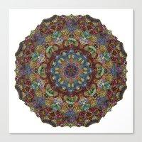 Hallucination Mandala 2 Canvas Print