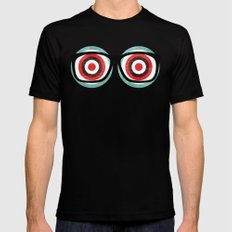 bullseyes Black Mens Fitted Tee SMALL