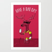 Bad Horacio Art Print