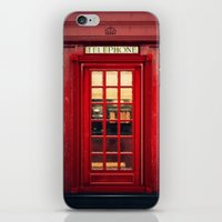 Magical Telephone Booth iPhone & iPod Skin