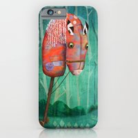 iPhone & iPod Case featuring The Hobby Horse by Fizzyjinks
