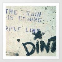 #STREETART MIAMI, USA by Jay Hops Art Print