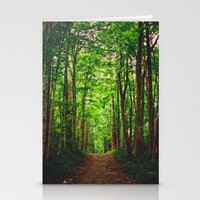 Trail Stationery Cards