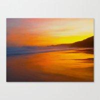 A Beautiful Dawn Canvas Print