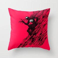 The Ink of Venom Throw Pillow