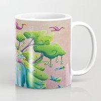 the flamingo world Mug