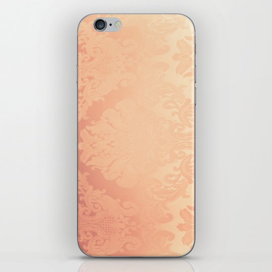 Pink Rose Vintage II iPhone & iPod Skin