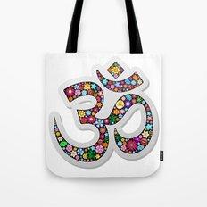 Om Aum Namaste Yoga Symbol  Tote Bag