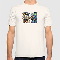 Final Fantasy II - Cecil and Kain Mens Fitted Tee Natural SMALL