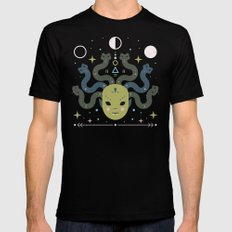 Medusa  Mens Fitted Tee Black SMALL