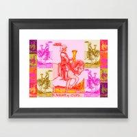 Knights Be Knighting Framed Art Print