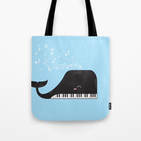 the Pianist Tote Bag