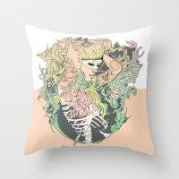 I N K : II Throw Pillow