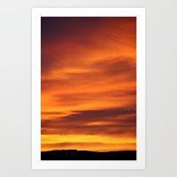 Sunrise March 15 2011 #2 Art Print