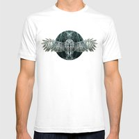 The Owl Mens Fitted Tee White SMALL