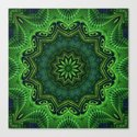 Harmony in Green Canvas Print
