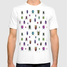 Beetles Mens Fitted Tee White SMALL