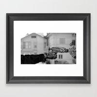 Nerf War Framed Art Print