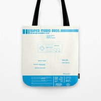 Diagame : Super Mario Bros. '85 Tote Bag