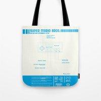 Diagame : Super Mario Br… Tote Bag