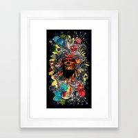 He Shall Return. Framed Art Print