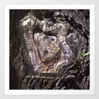 Holy Archaic Maria Art Print