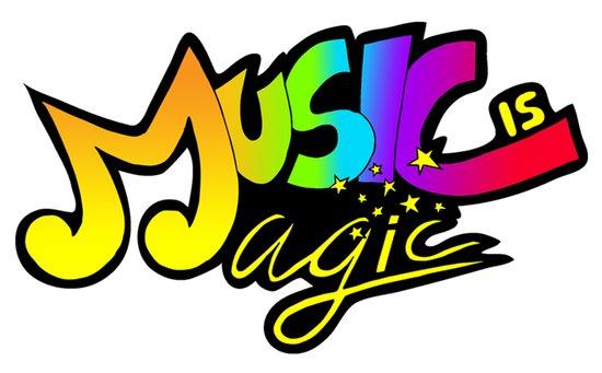 Music Is Magic Art Print
